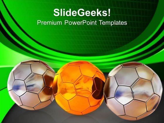 Enjoy Footballs In World Cup PowerPoint Templates Ppt Backgrounds For Slides 0613