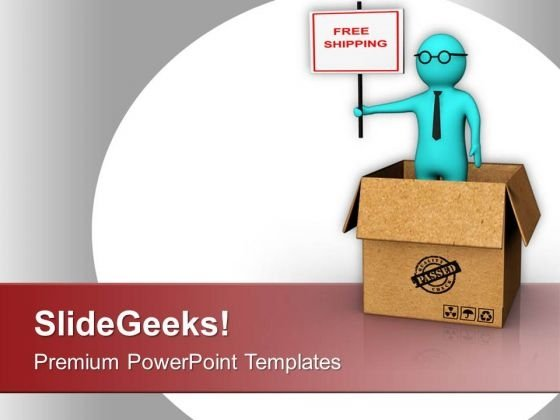 Enjoy Free Shipping On Online Shopping PowerPoint Templates Ppt Backgrounds For Slides 0813
