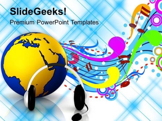 Enjoy International Music PowerPoint Templates Ppt Backgrounds For Slides 0613