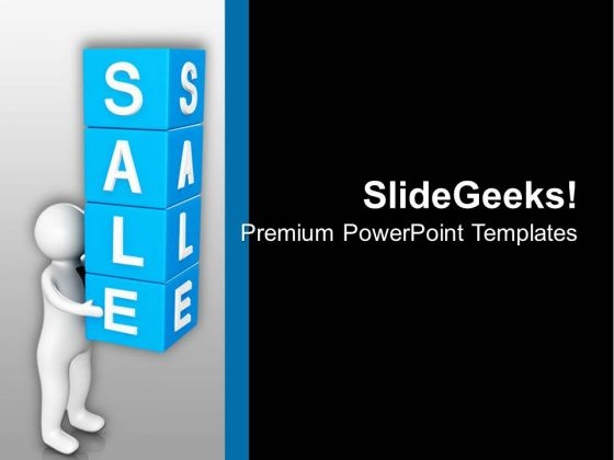 Enjoy Sale Time In Year End PowerPoint Templates Ppt Backgrounds For Slides 0713
