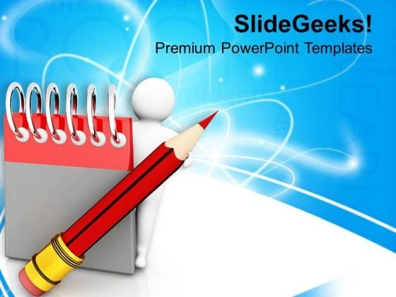 Enjoy Writing Skills For Progress PowerPoint Templates Ppt Backgrounds For Slides 0813