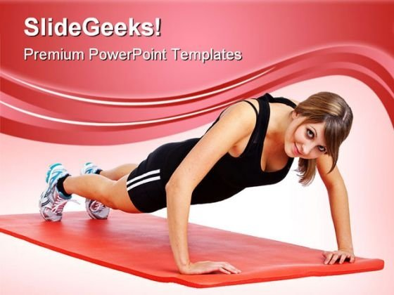 Exercise01 Health PowerPoint Templates And PowerPoint Backgrounds 0411