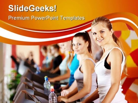 Exercise Health PowerPoint Themes And PowerPoint Slides 0411