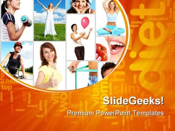 Exercise Health PowerPoint Themes And PowerPoint Slides 0811