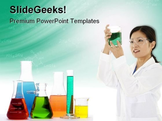 Experiment Science PowerPoint Themes And PowerPoint Slides 0711