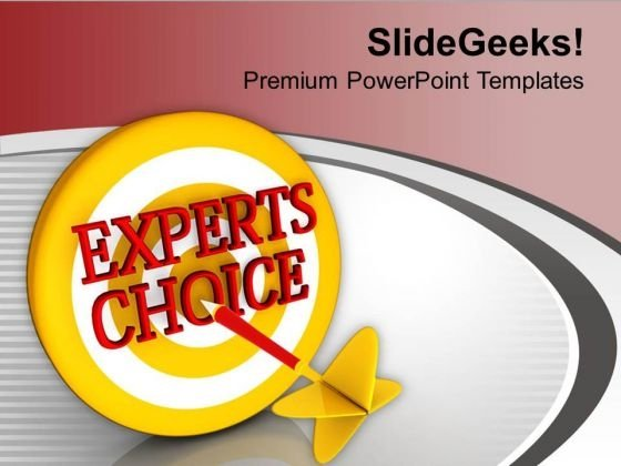 Expert Choice Is Jackpot For Business PowerPoint Templates Ppt Backgrounds For Slides 0313