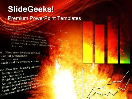 Explosive Growth Chart Finance PowerPoint Templates And PowerPoint Backgrounds 0611