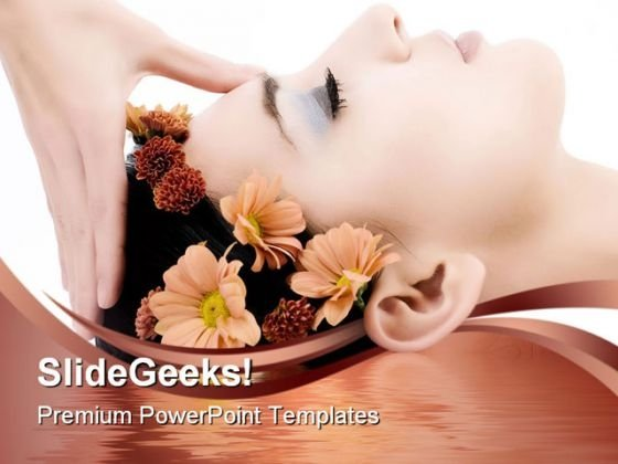 Facial Massage Beauty PowerPoint Templates And PowerPoint Backgrounds 0311