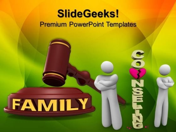 Family Law PowerPoint Templates And PowerPoint Themes 0912