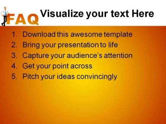 faq_people_powerpoint_template_0910_text