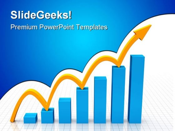 Fast Growth Arrow Success PowerPoint Themes And PowerPoint Slides 0211