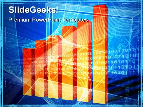 Financial Computing Business PowerPoint Background And Template 1210