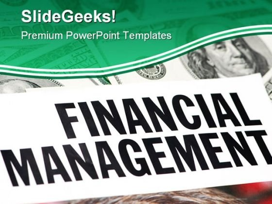 Financial Management Finance PowerPoint Themes And PowerPoint Slides 0511