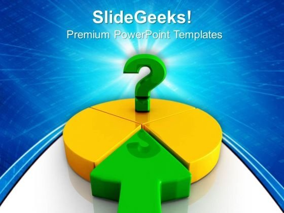 Financial Pie Chart Marketing PowerPoint Templates And PowerPoint Themes 0912