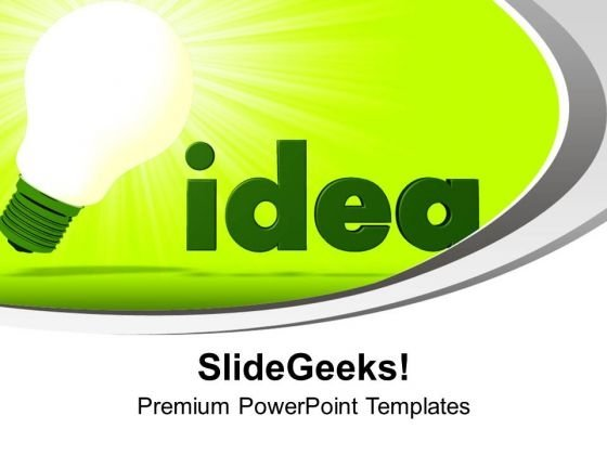 Find The Innovative Idea PowerPoint Templates Ppt Backgrounds For Slides 0413