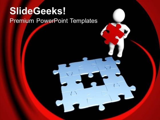 Find The Part Of Solution PowerPoint Templates Ppt Backgrounds For Slides 0513