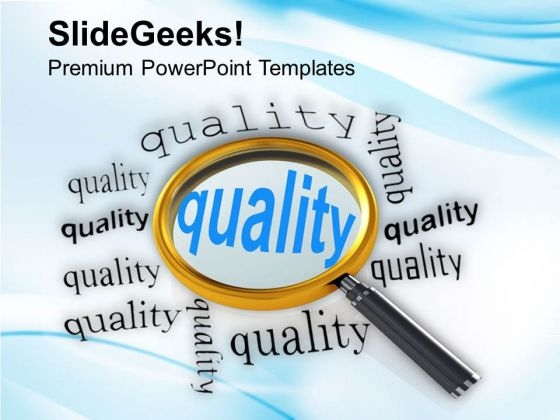 Find The Quality In Market PowerPoint Templates Ppt Backgrounds For Slides 0513