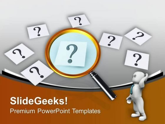 Find The Right Cause PowerPoint Templates Ppt Backgrounds For Slides 0413