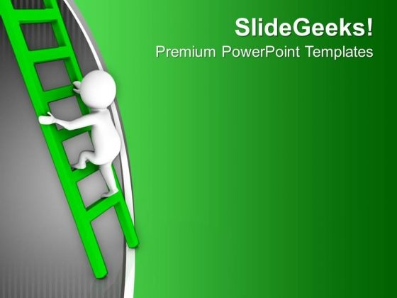 Find The Right Path For Glory PowerPoint Templates Ppt Backgrounds For Slides 0713
