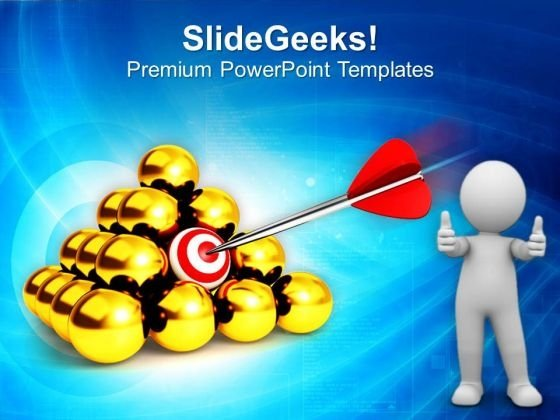 Find The Right Target PowerPoint Templates Ppt Backgrounds For Slides 0413