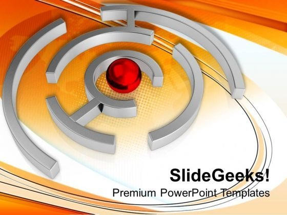 Find The Right Way To Get Target PowerPoint Templates Ppt Backgrounds For Slides 0613
