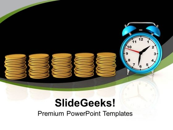 Find The Value Of Time PowerPoint Templates Ppt Backgrounds For Slides 0613