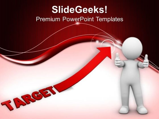 Find Your Targets For Future Growth PowerPoint Templates Ppt Backgrounds For Slides 0613