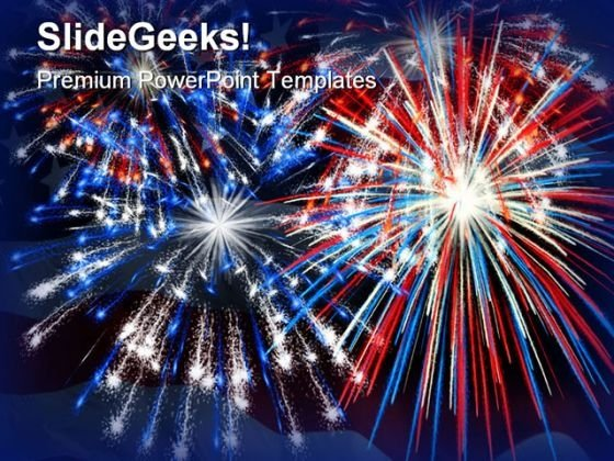 Firework Festival PowerPoint Backgrounds And Templates 1210