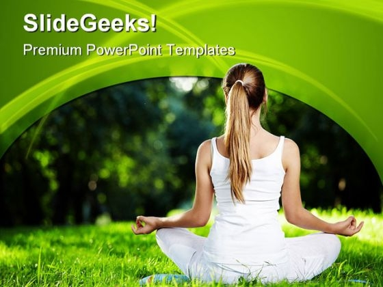 Fitness Exercise Health PowerPoint Themes And PowerPoint Slides 0411