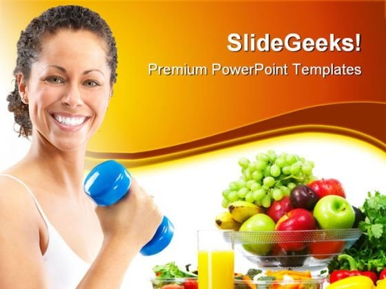 Fittness Concept Health PowerPoint Templates And PowerPoint Backgrounds 0611