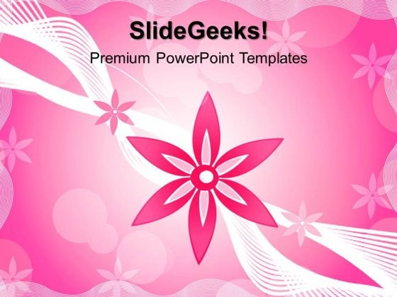 Floral01 Beauty PowerPoint Templates And PowerPoint Themes 0412