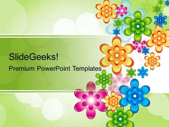 Floral Abstract Background PowerPoint Templates And PowerPoint Themes 0212