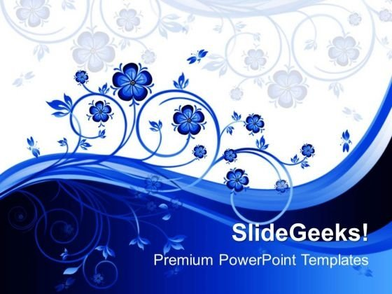 Floral Beauty PowerPoint Templates And PowerPoint Themes 0412