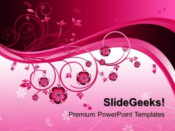 Floral Nature PowerPoint Templates And PowerPoint Themes 0412