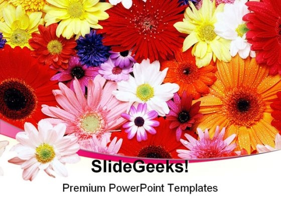 Flower Nature PowerPoint Themes And PowerPoint Slides 0511