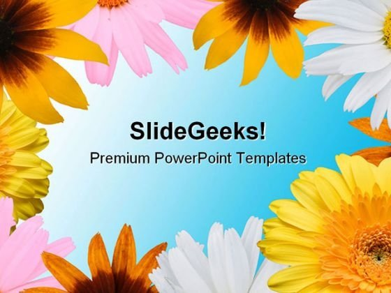 Flowers Background01 Abstract PowerPoint Themes And PowerPoint Slides 0811
