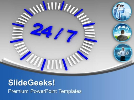Focus On Business Networking PowerPoint Templates Ppt Backgrounds For Slides 0513