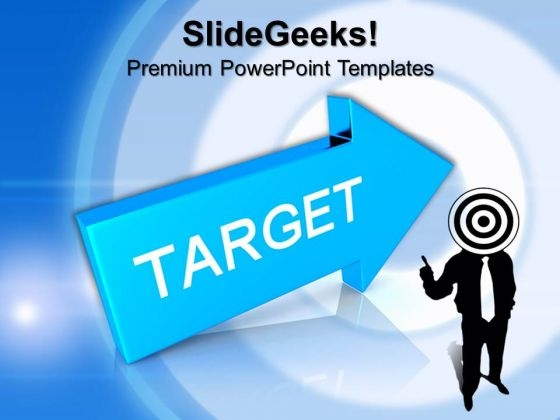 Focus On Target PowerPoint Templates And PowerPoint Themes 0912