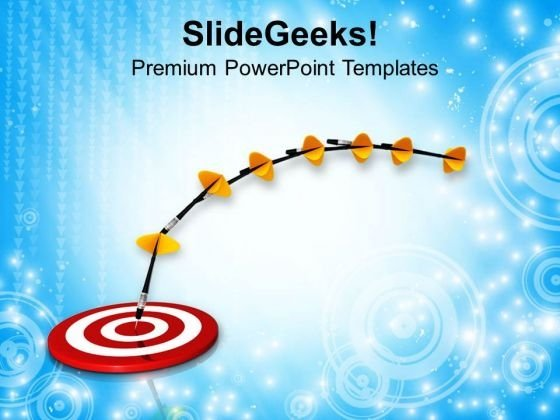 Focus On Target Task Completed PowerPoint Templates Ppt Backgrounds For Slides 0713