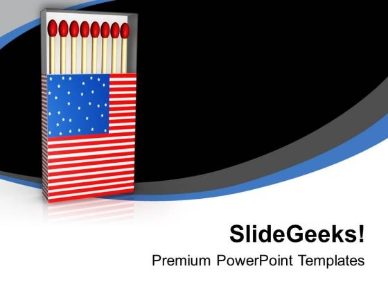 Follow The American Unity Strategy PowerPoint Templates Ppt Backgrounds For Slides 0813