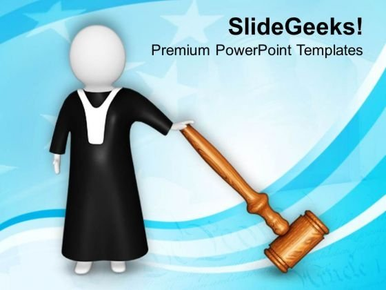 Follow The Law And Order PowerPoint Templates Ppt Backgrounds For Slides 0813