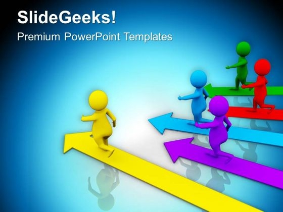 Follow The Right Path For Success Business PowerPoint Templates Ppt Backgrounds For Slides 0713