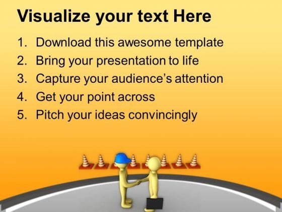 Follow The Road Safety Measures PowerPoint Templates Ppt – Safety Powerpoint Template