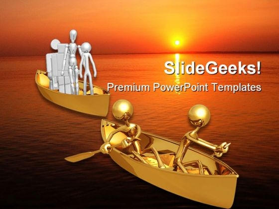 Fools Ship Left Behind Metaphor PowerPoint Templates And PowerPoint Backgrounds 0711