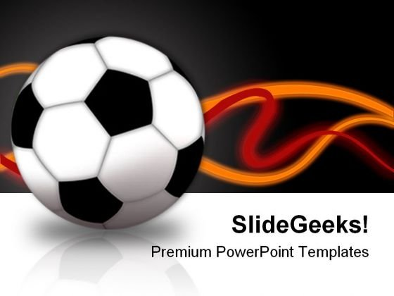 Football Game Sports PowerPoint Templates And PowerPoint Backgrounds 0111