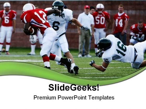 Football Sports PowerPoint Templates And PowerPoint Backgrounds 0611