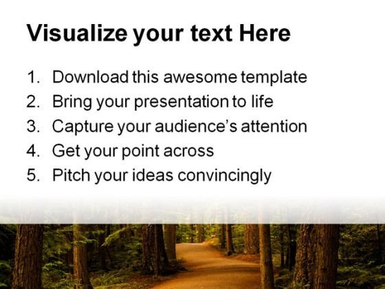 forest_path_way_nature_powerpoint_template_0810_print
