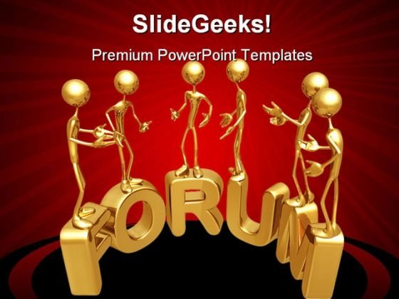 Forum Internet PowerPoint Templates And PowerPoint Backgrounds 0511