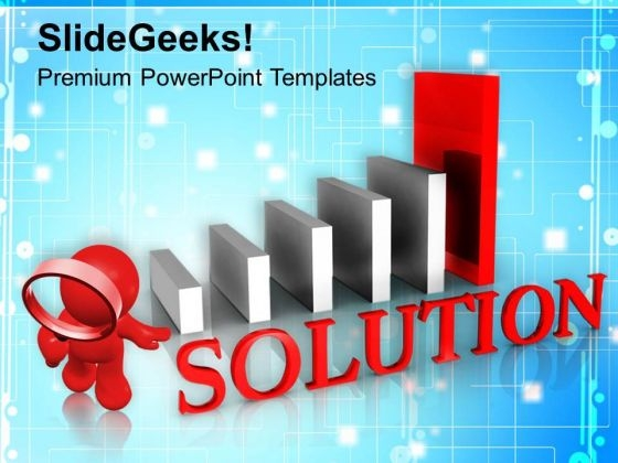 Found Business Solution PowerPoint Templates Ppt Backgrounds For Slides 0313