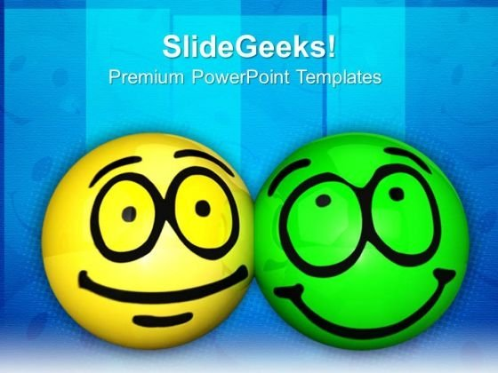 Friendship Behavior Shapes PowerPoint Templates And PowerPoint Themes 0812
